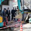 神戸|ガス管取換え工事中に事故|作業員3人に引火|火傷重症