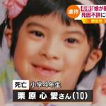 野田市 10歳女児死亡事件 母親の栗原なぎさを再逮捕|父親からの虐待暴行(顔画層)
